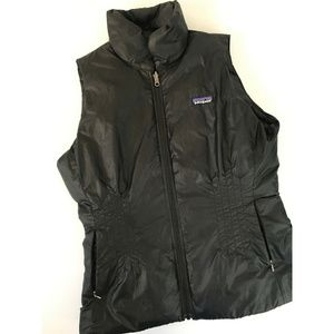 Patagonia Black Down Filled Vest